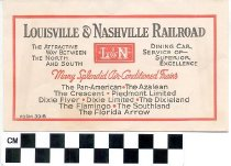 Image of Louisville & Nashville Railroad envelope -