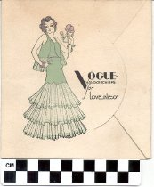 Image of Vogue Handkerchiefs for Loveliness envelope -
