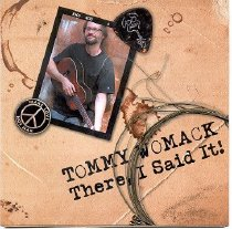 Image of Tommy Womack CD Cover