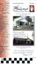 Image of Three Forks Church of Christ newsletter