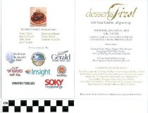 Image of Desserts First invitation