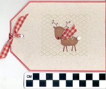 Image of Reindeer christmas card