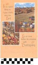 Image of Smiths Grove Presbyterian Church Thanksgiving program