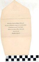 Image of Smiths Grove High School graduation announcement 1919