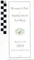 Image of Woman's Club of Smiths Grove Art Show [program] -