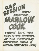 Image of Rap Session with Senator Marlow Cook -