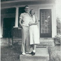 Image of Unidentified Couple - Stockton, Juanita