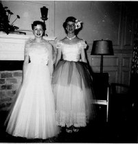Image of Juanita Hood and Friend - Unknown