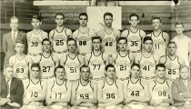 Image of Hilltopper Basketball Team - Unknown