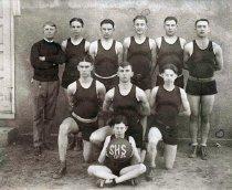 Image of Shepherdsville High School Basketball Team - Unknown