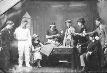 Image of Cast of Captain Rackett - Lee, Bill