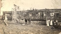 Image of Cedar House Construction - Unknown
