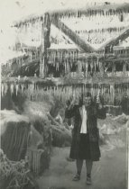 Image of Lucile Schaaf Under Bridge - Unknown