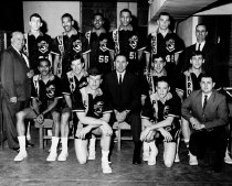 Image of Unidentified Basketball Team - Unknown