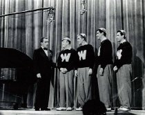 Image of Hilltoppers with Ed Sullivan - Unknown