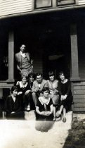 Image of Boarding House Residents - Unknown