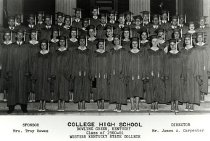 Image of College High Class of 1961 - Unknown