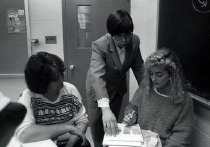 Image of WKU Students in Class - Griffith, Rachel