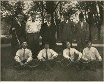 Image of Ogden College Tennis Team - Unknown