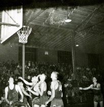 Image of College High Basketball Game - Unknown
