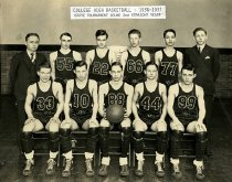 Image of College High Basketball Team - Franklin Studio, Bowling Green, Ky.