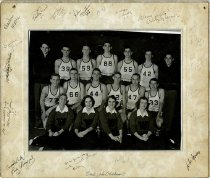 Image of College High Basketball Team - Young, J.L.