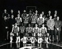 Image of Men's Basketball Team - Unknown