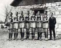 Image of WKU Basketball Team - Unknown