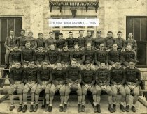 Image of College High Football Team - Franklin Studio, Bowling Green, Ky.