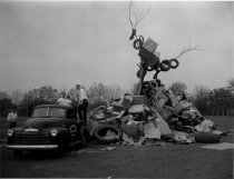 Image of Homecoming Bonfire - Strode, Bill