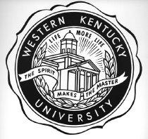 Image of WKU Seal - Thompson, E. Kelly, 1909-1993