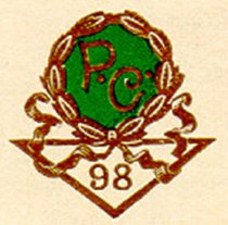 Image of 1898 Class Pin - Golden Rod
