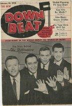 Image of Down Beat Magazine -