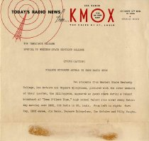 Image of KMOX Press Release -