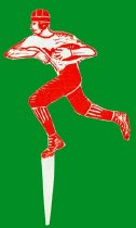 Image of Football Player Cutout -