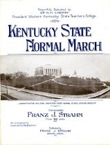 Image of Kentucky State Normal March -