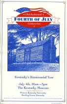 Image of Event Poster - Fourth of July - Library Special Collections