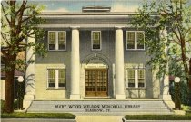 Image of Mary Wood Weldon Memorial Library -