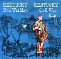 Image of Kentucky Civil War Map -