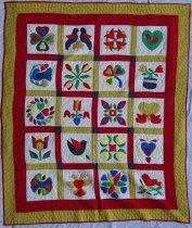 Image of KM2012.11.2 - Pennsylvania Dutch Friendship quilt
