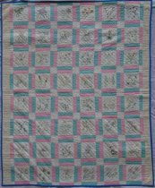 Image of KM2012.11.3 - State Flowers Quilt