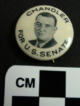 Image of 1983.43.223 - Chandler for U.S. Senator photo button