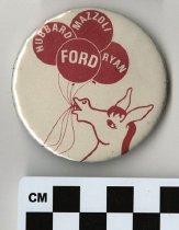 Image of 1983.43.420 - Ford, Hubbard, Mazzoli, Ryan political button