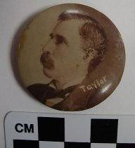 Image of William S. Taylor political button - Button, Political