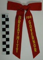 """Image of 1994.17.5 - Edward """"Ned"""" Breathitt political bow tie"""