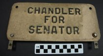 "Image of 1995.7.1 - Albert ""Happy"" Chandler license plate"