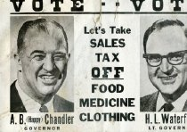 Image of Happy Chandler and H. L. Waterfield -
