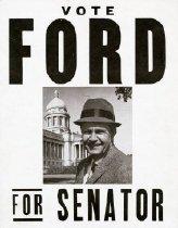 Image of Vote Ford For Senator [political poster] -