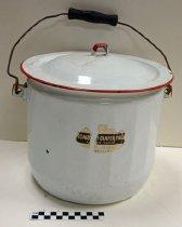 Image of KM2012.9.15 - Combinet diaper pail