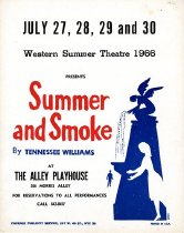 Image of Summer Theater Poster - Theatre & Dance (WKU)